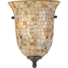 Buy the Quoizel Malaga Direct. Shop for the Quoizel Malaga Monterey Mosaic 2 Light Tall Wall Washer with Pen Shell Mosaic Shade and save. Candle Wall Sconces, Wall Sconce Lighting, Basement Lighting, Hall Lighting, Vanity Lighting, Mosaic Wall, Mosaic Glass, Quoizel Lighting, Wall Lights