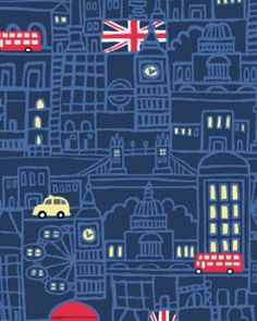 I picked this wallpaper because the show is from Britain and it also goes with the  color sceme.