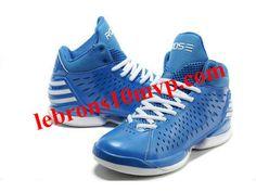 Adidas AdiZero Rose 3.0 Shoes Royal Blue/White