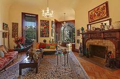 Clinton Avenue Brooklyn Victorian mansion interior by techpro12, via Flickr