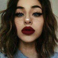Huge lips make-up - Miladies.internetHuge lips make-up - Miladies. Makeup Goals, Love Makeup, Makeup Inspo, Makeup Inspiration, Makeup Tips, Makeup Ideas, Makeup Tutorials, Makeup Art, Makeup Salon