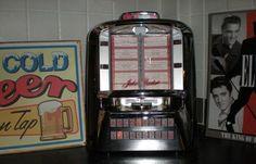 Table-top jukebox. Retro de verdad.