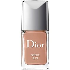 Dior Vernis Couture Color Long-Wear Nail Lacquer - 100% Exclusive (87 BRL) ❤ liked on Polyvore featuring beauty products, nail care, nail polish, gr ge, christian dior, christian dior nail polish, shiny nail polish and gel nail color