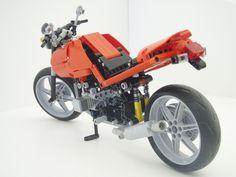 Lego Motorbike, Motorcycle, Lego Technic, My Spirit Animal, Lego Ideas, Cool Cars, Brick, Bb, Cool Stuff