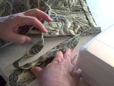 a brilliantly easy way to finish off a quilt binding - this is genious