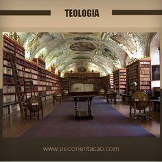 TEOLOGIA – Estudo das religiões e suas influências.        Atuação: Consultoria, ensino, ONGs, pesquisa, sacerdócio