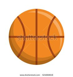 basketball ball sport icon vector illustration graphic design