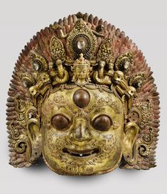 Philadelphia Museum of Art - Collections Object : Face of Bhairava