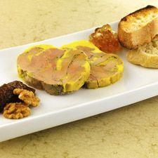Terrine de foie gras du Périgord mi-cuit, mariné au liquoreux   Gastronomie en Aquitaine