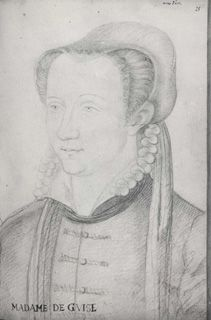Jean, Follower of, c.1564 Clouet (16th Century), Anne dEste (Click for larger version of this image)