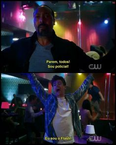 I am a police officer. -I am the flash! Top Memes, Funny Memes, Arrow Flash, Flash Marvel, Flash Tv Series, The Flash Grant Gustin, Dc Comics Superheroes, Snowbarry, Supergirl And Flash