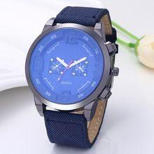 Fashion Luxury Blue Glass Quartz Watch Casual Sports Watches Men Business Watch Male Hour Clock erkek saat relogio masculino(China (Mainland))