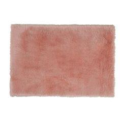 Alfombra imitación de piel rosa 120 x 180 cm BLUSH