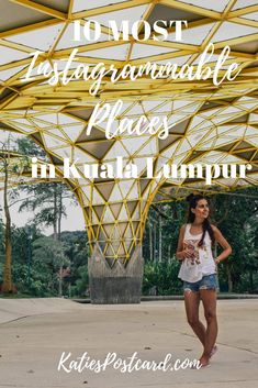 Are you coming to the capital of Malaysia and want to find the best photo spots to boost your Instagram account? You are on the right place. Amazing skyline, beautiful modern architecture, classical Muslim designs, relaxing gardens, there is so much it offers. Check out my 10 most instagrammable places in Kuala Lumpur. Keywords: Instagram Worthy; Photo Spots; Things to do in; Style; Travel;