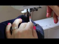 How To Hem Jeans Fast and Easy.  Don't see why this would not also work for jean skirts too.