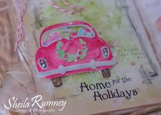 Art journaling is quickly becoming one of my favorite places to create smaller works of art.  Die cuts can add interest and whimsy to thes...