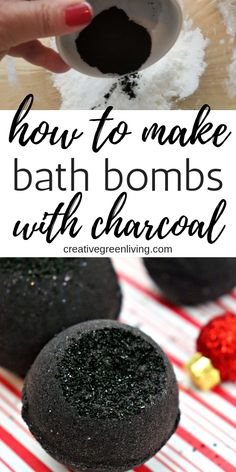 Learn how to make a black bath bomb with activated charcoal. This DIY bath bomb recipe will give you black bath water just like the Lush secret arts black bath bomb. Using activated charcoal in skin care products is great for your skin. Diy Hanging Shelves, Floating Shelves Diy, Mason Jar Crafts, Mason Jar Diy, Black Bath Bomb, Bath Bomb Ingredients, Bombe Recipe, Bath Bomb Molds, Bath Bomb Recipes