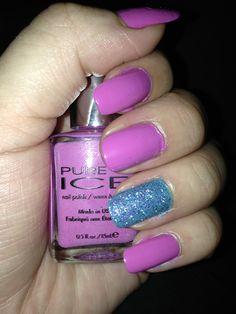 Pure Ice nail polish  Dries fast!