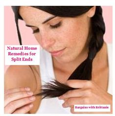 Natural Home Remedies for Split Ends! - Bargains with Brittanie