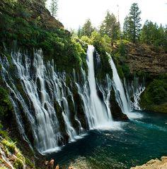 McArthur-Burney Falls in Redding, California