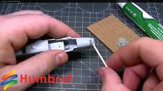 Humbrol - How To Use - Model Filler