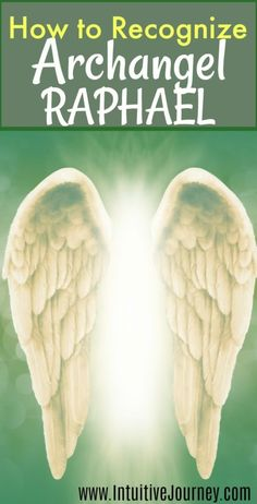How to recognize when Archangel Raphael is around. Sometimes I think Archangel Raphael is near, but I don't recognize his presence. This tells me what to look for. Archangel Raphael Prayer, Archangel Prayers, Archangel Michael, St Raphael Prayer, San Raphael, Raphael Angel, Angel Guidance, Spiritual Guidance, Spiritual Life
