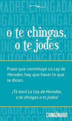 La Ley de Herodes...