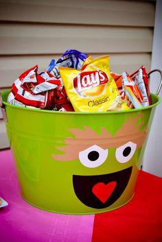 Elmo & Sesame Street Birthday Party Ideas | Photo 3 of 34 | Catch My Party