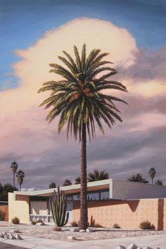 Wexler With Date Palm, by Danny Heller, 2010 Mid Century Modern Design, Mid Century Modern Furniture, Midcentury Modern, Palm Springs, Kitsch, Mid Century Lighting, Destinations, Mid Century House, Modern Exterior