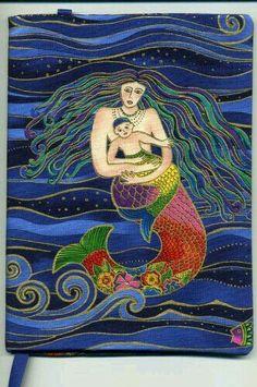 Sirena y su bebé