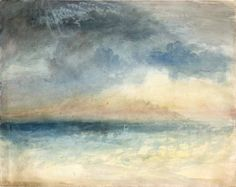 The Athenaeum - Bamburgh Castle, Northumberland (Joseph Mallord William Turner - )