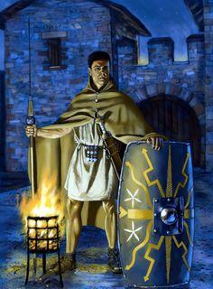 Roman sentry