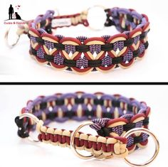Neu!! ♥ Wunderschöne #Paracord #Hunde #Halsbänder und #Leinen @jennisaccount JETZT in meinem Shop erhältlich ab 15,99 € www.preiswolf24.de/produkt-kategorie/paracord/ 10% der Einnahmen gehen an die Hunde von www.hundehilferum... #Hundehalsbänder Paracord Diy, Paracord Dog Leash, Paracord Braids, Paracord Projects, Paracord Bracelets, Fabric Jewelry, Diy Jewelry, Micro Macrame, Bracelet Patterns