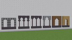 Minecraft Wall Designs, Minecraft Building Designs, Art Minecraft, Minecraft Medieval, Minecraft Decorations, Minecraft Tutorial, Minecraft Blueprints, Minecraft Architecture, Minecraft Creations