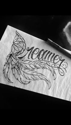Dream catcher tattoo black and white