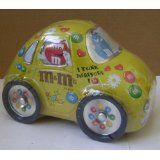 M's Candy Fun Pack in Yellow Tin Car - 3.5oz - Great collectible (Electronics)  #limited #edition limited edition