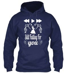 Still Falling For You Navy Sweatshirt Front Shirt Style 0d44b7ee752f