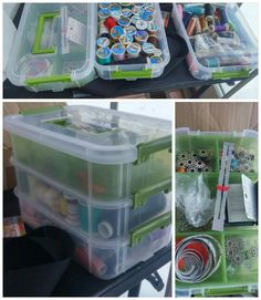 Sewing notions storage