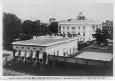 White_House_Office_Building,_and_tennis_court_c.1909.jpg (JPEG Image, 640×458 pixels)