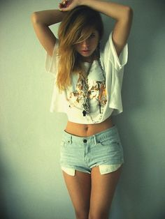 Cute Cropped Shirts summer | cropped top | Tumblr