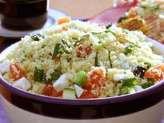 Confetti Couscous salad. Could modify further to reduce fat/sodium content...but overall, good and good :)