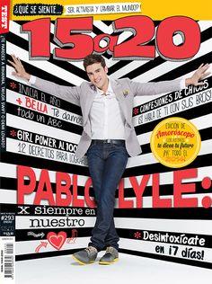 Pablo Lyle por Mauricio Orozco para 15a20, México, enero 2014