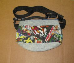 Fanny Pack with adjustable strap made with recycled by markybell
