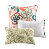 Found it at Wayfair - Martinique Floral Design Decorative Pillow Pack