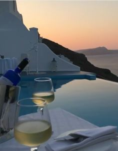 The colours of sunset in Akrotiri, Santorini island