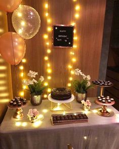 Birthday party decorations for adults women simple harry potter 64 Ideas - Party - Birthday Simple Birthday Decorations, Birthday Party Decorations For Adults, Diy Party Decorations, Small Birthday Parties, Adult Birthday Party, Birthday Woman, 22nd Birthday, Mermaid Birthday, Birthday Ideas