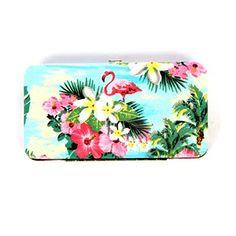 Tropical Island Love Pink Flamingo Toucan Tropical Flower Flat Frame Wallet Sachi Accessories http://www.amazon.com/dp/B00TULTX0I/ref=cm_sw_r_pi_dp_p0W9ub0RV8B26