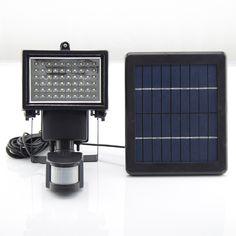 49.83$  Buy here - http://ali8hq.shopchina.info/go.php?t=32618587341 - Super Bright 60 LED Solar Motion Sensor Lamp Waterproof  Motion Sensor Wall Lights ,Security Light,Solar Rechargeable Floodlight  #buyonline