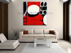 Elegant designed 1-panel Giclee high-resolution canvas print with abstract in modern style. It is available in numerous sizes to fit any size room!