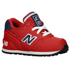 new balance 574 infant red